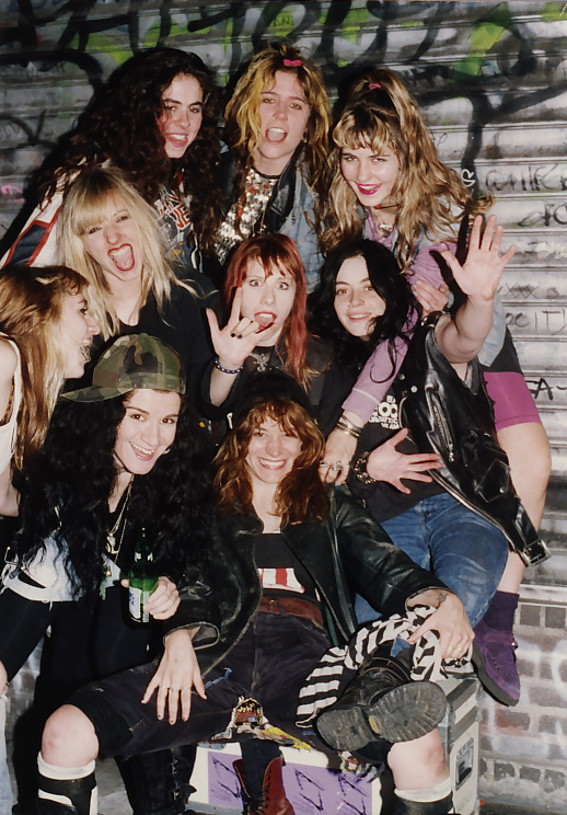 L7 with the Lunachicks